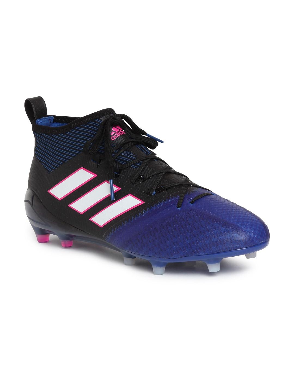 reputable site 2dc3a eedfc ADIDAS Men Blue  Black ACE 17.1 PRIMEKNIT FG Football Shoes