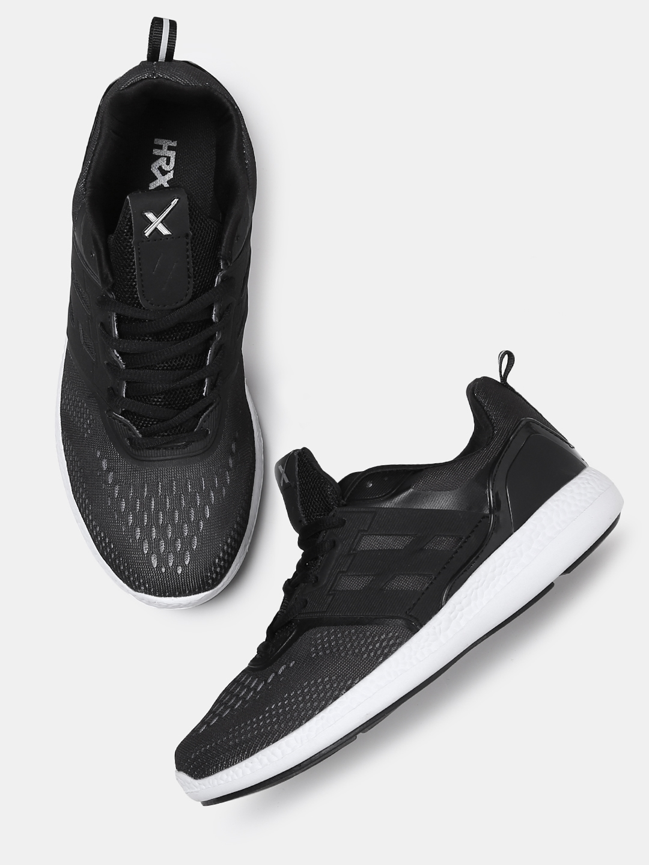 3d15eb857c9 Buy HRX By Hrithik Roshan Women Street Run Black Running Shoes ...