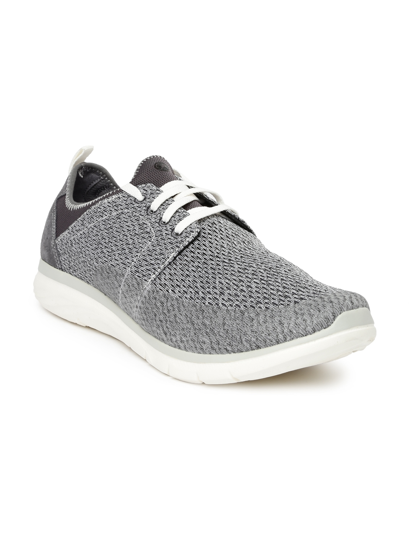 99a7a9afdfda8 Buy Hush Puppies Men Grey Printed Luton Speed Regular Sneakers ...