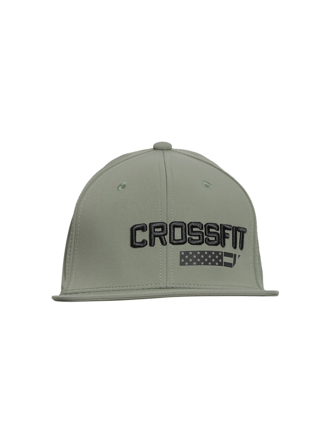 4979a3a6548 Buy Reebok Unisex Olive Green CrossFit A Flex Training Cap - Caps for Unisex  1783004