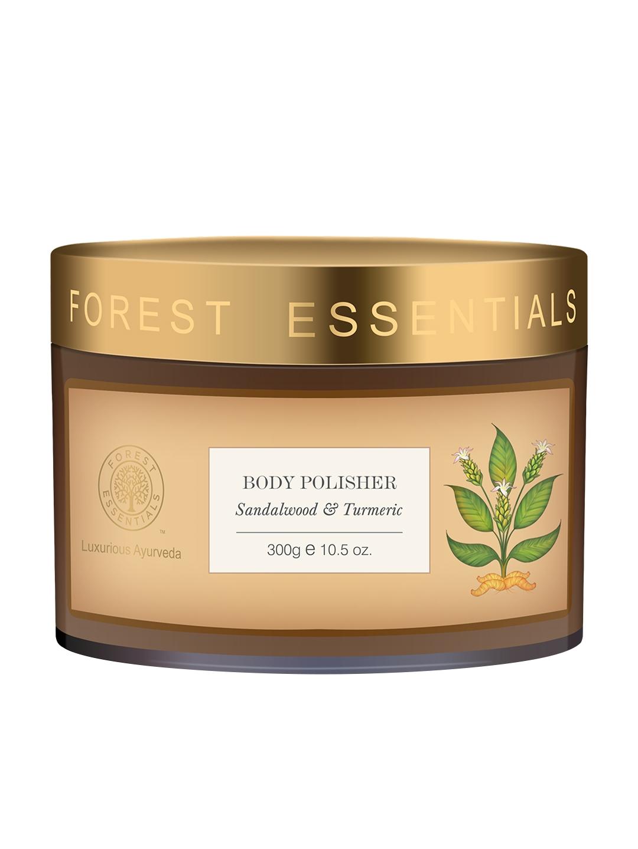 Forest Essentials Unisex Sandalwood & Turmeric Body Polisher