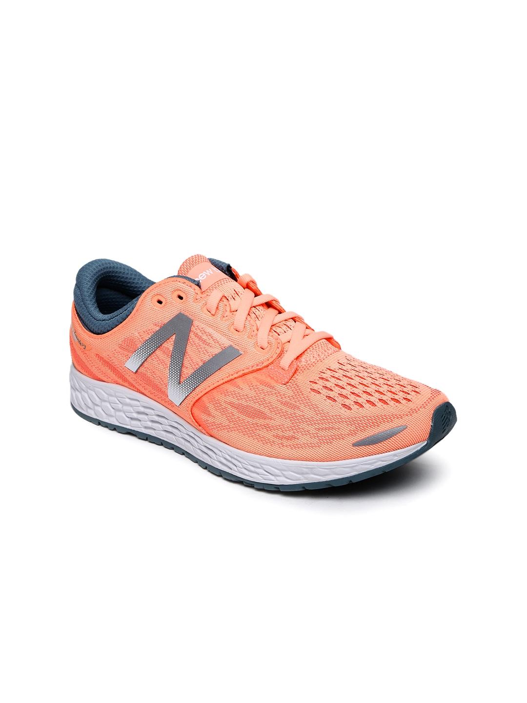 6160d9783353 Buy New Balance Women Peach Coloured Rush Running Shoes - Sports ...