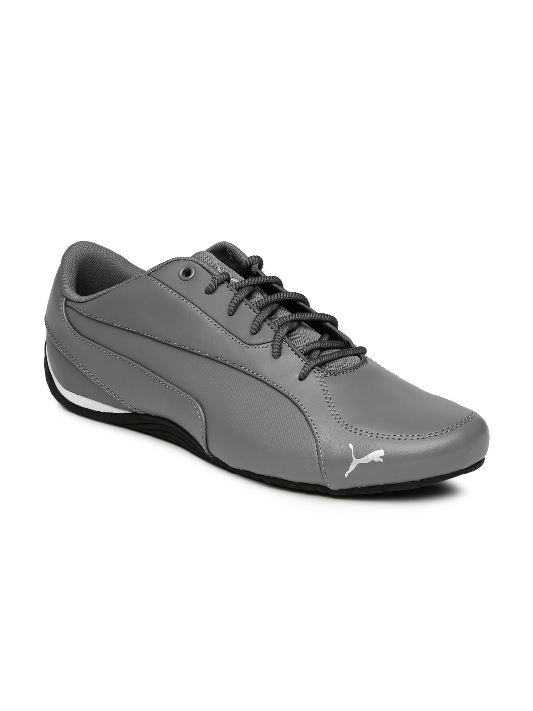 Buy Puma Men Grey Drift Cat 5 Core Sneakers - Casual Shoes for Men ... dd187768c