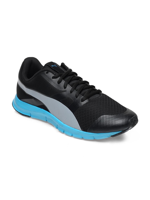 Buy PUMA Men Black Flexracer DP Running Shoes - Sports Shoes for Men ... 49f578b3b