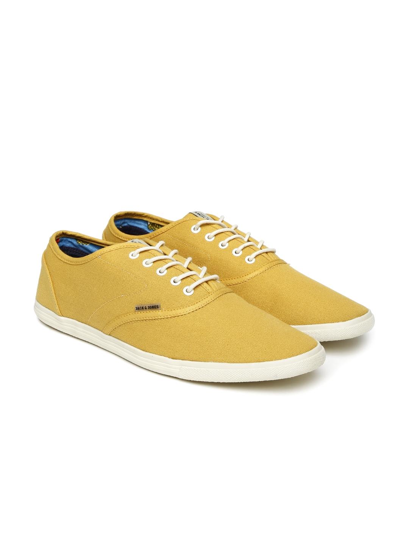 Buy Jack \u0026 Jones Men Mustard Yellow