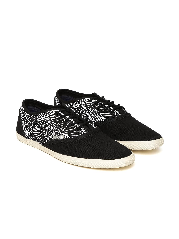 Buy Jack   Jones Men Black   White Printed JJ Spider Sneakers ... a272182f1