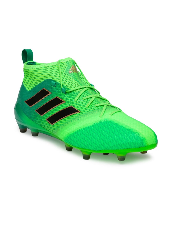 8a04d260e Buy ADIDAS Men Green ACE 17.1 Primeknit Football Shoes - Sports ...
