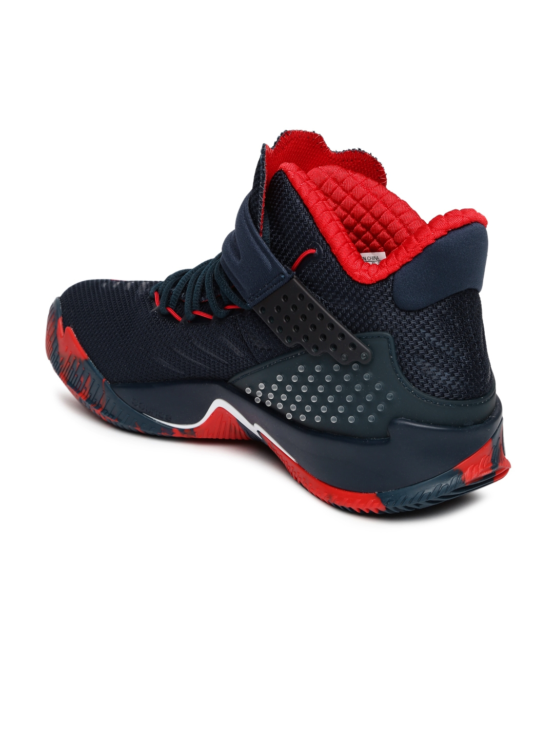 official photos b25f7 b8b4c ... sale adidas men navy blue ball 365 basketball shoes 225e0 bb3ed