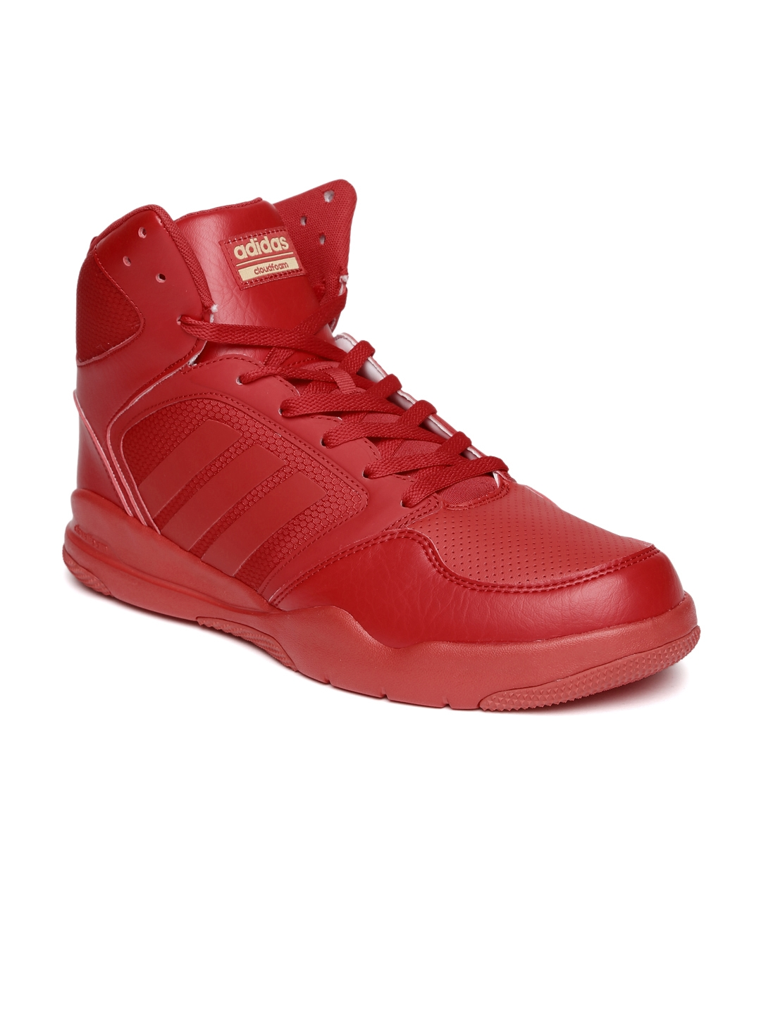 Adidas Neo CLOUDFOAM REWIND MID Sneakers (Red)