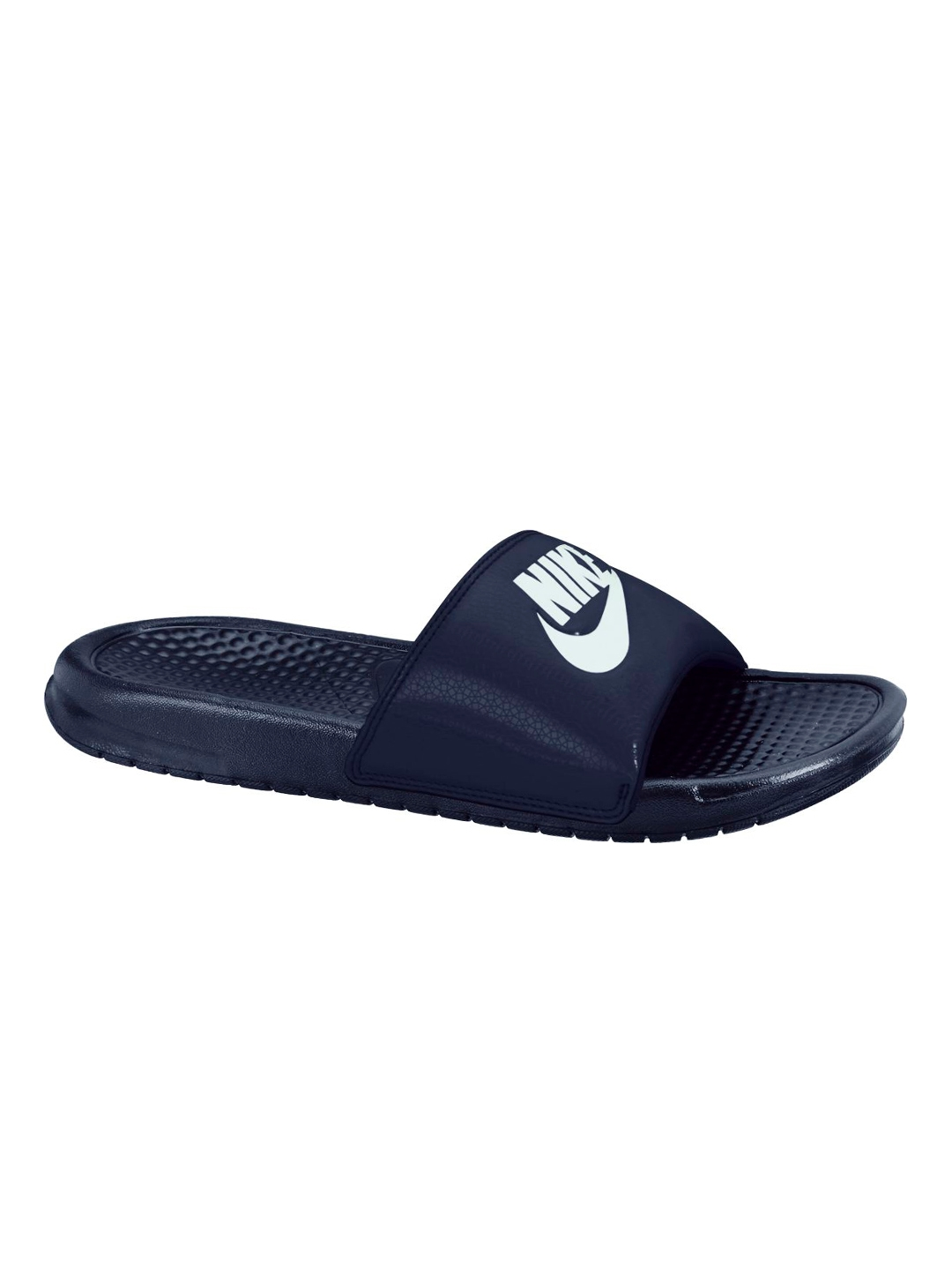 55a032361 Buy Nike Men Navy Benassi JDI Printed Flip Flops - Flip Flops for ...
