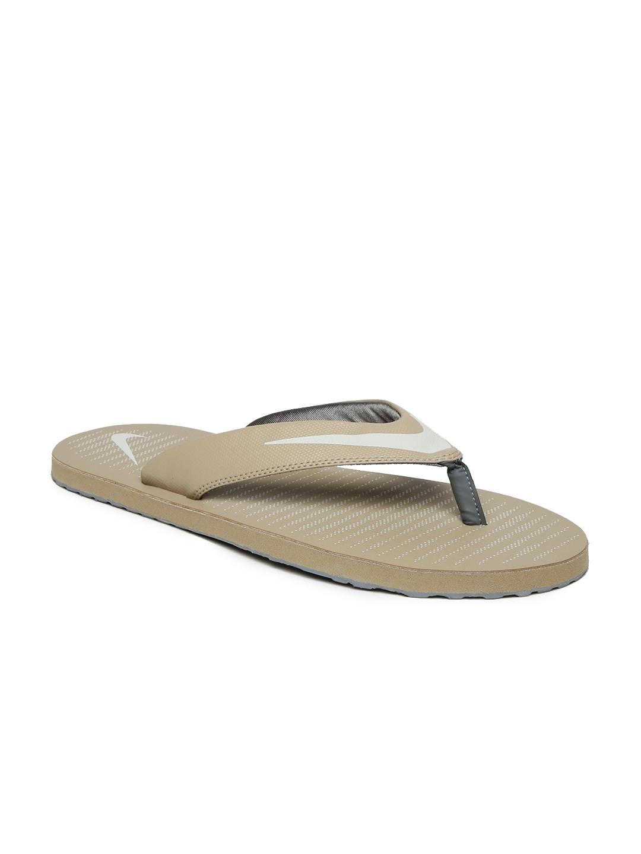 7cb5656e98fd Buy Nike Men Beige Chroma Thong 5 Flip Flops - Flip Flops for Men ...