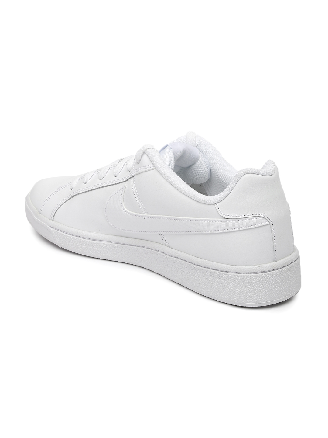 3dbfa571de488 Buy Nike Men White Solid Court Royale Sneakers - Casual Shoes for ...