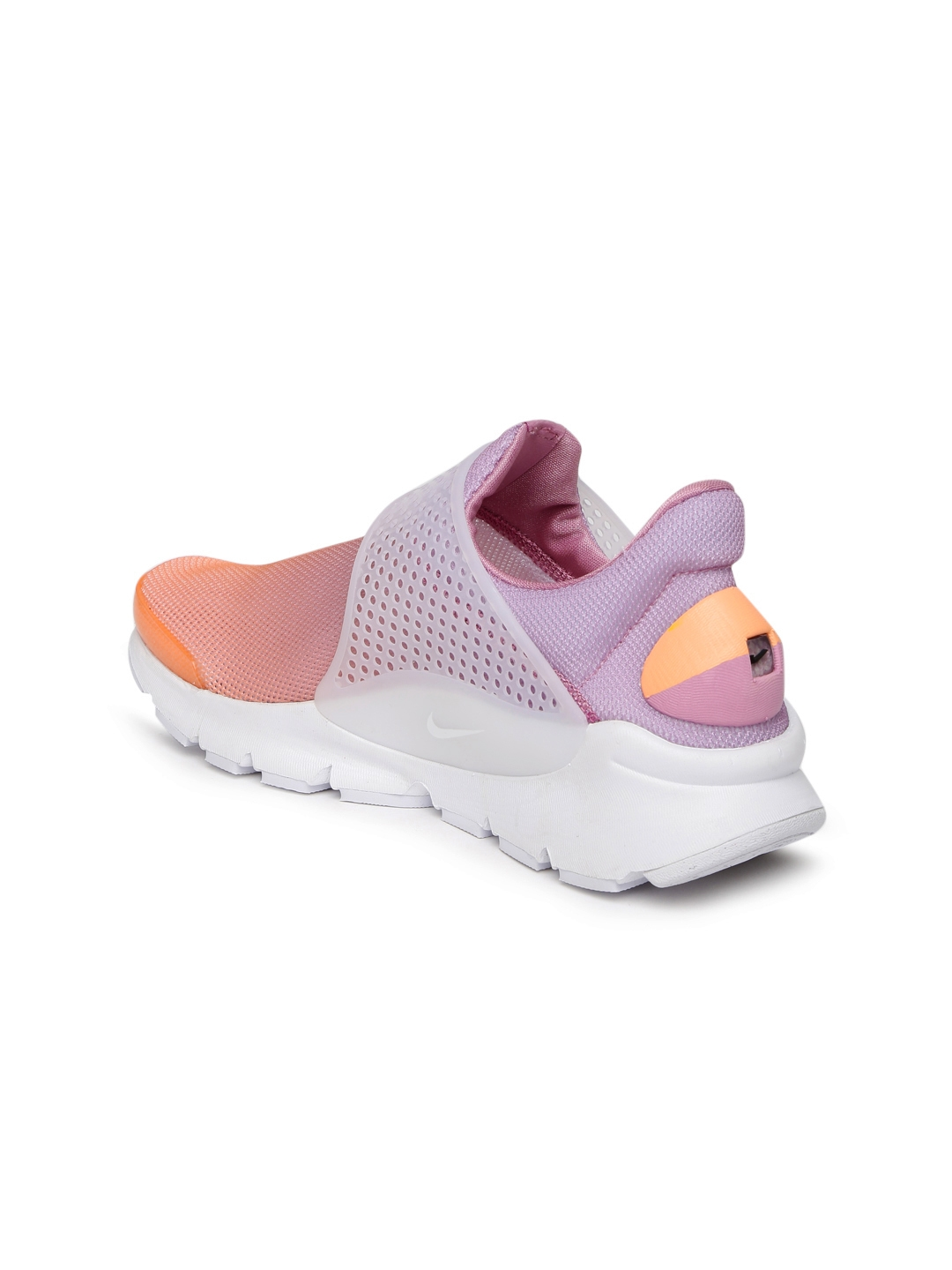 cheap for discount d4ed6 e2ab5 Nike Women Orange Sock DART BR Slip-On Sneakers