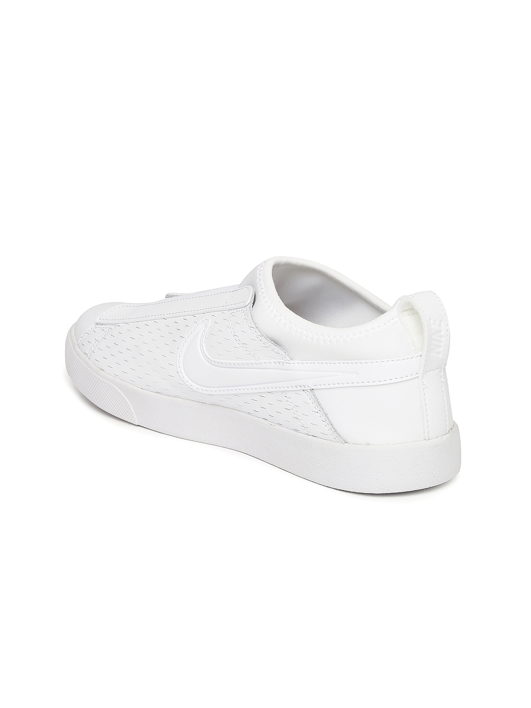 7db56381fd6 Buy Nike Women White Leather Racquette 17 Slip On Sneakers - Casual ...