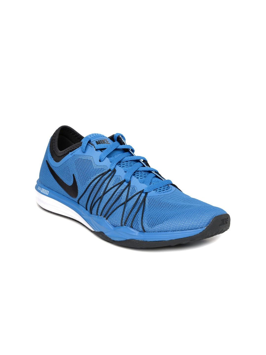 best website fb0be f98e4 Nike Women Blue Dual Fusion TR Hit Training Shoes