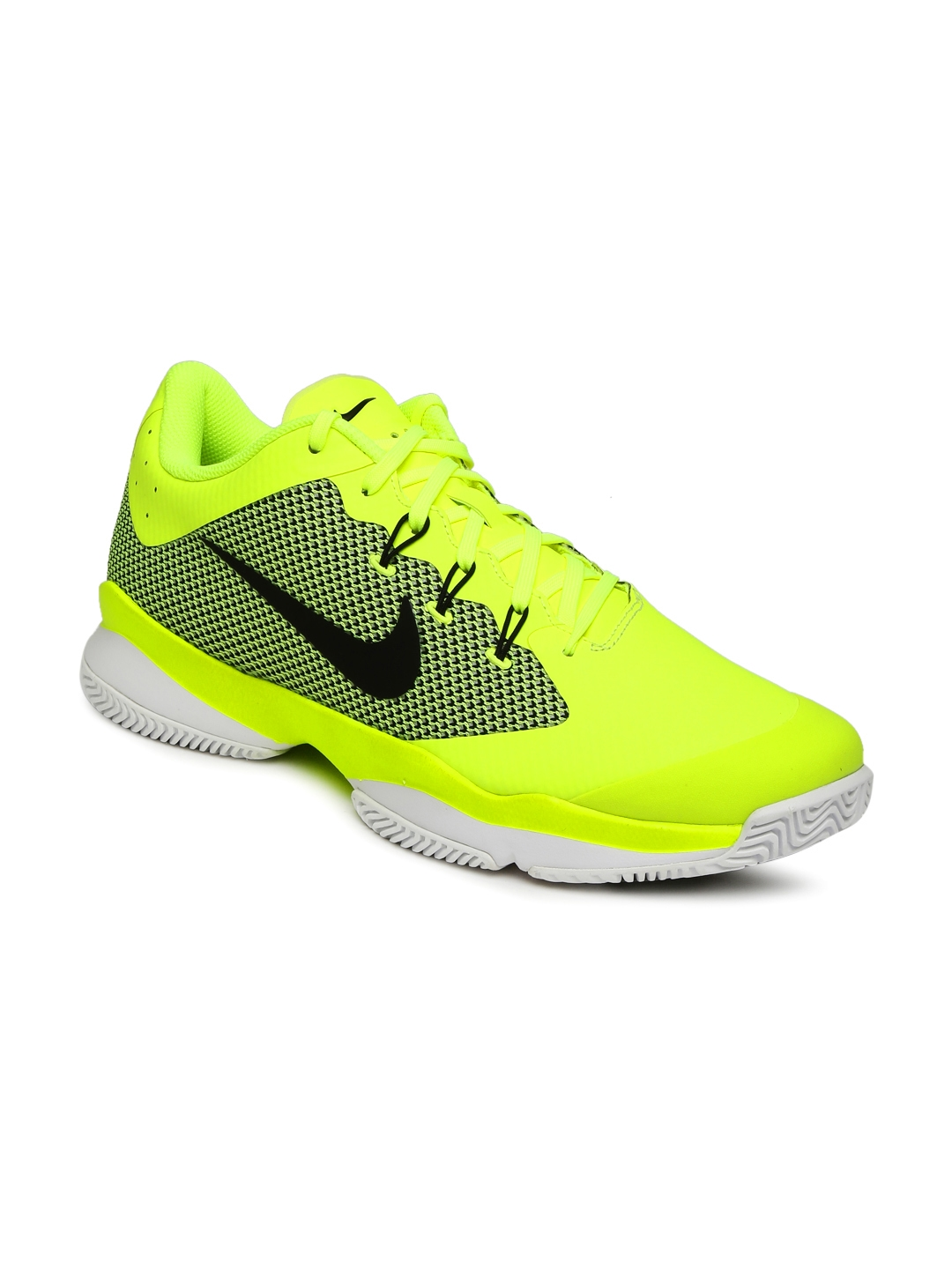 0433236566ea Buy Nike Men Fluorescent Green Air Zoom Ultra Tennis Shoes - Sports ...