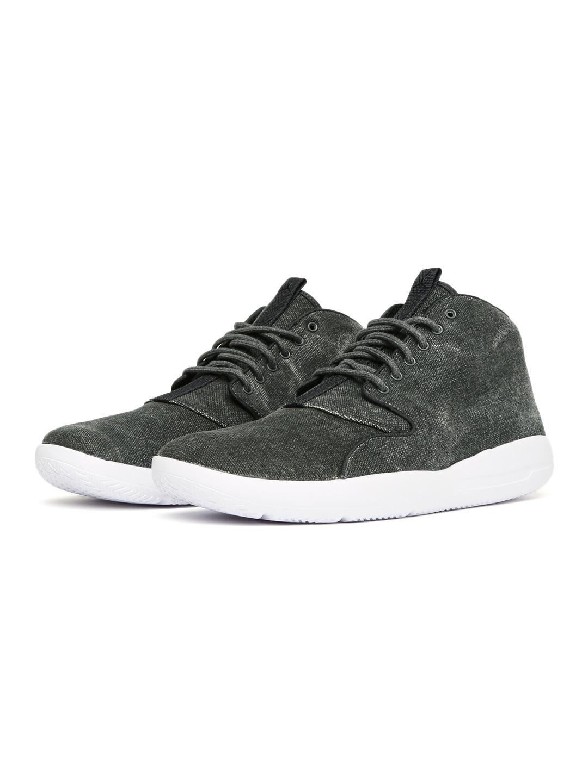 47378b5a21760f Buy Nike Men Charcoal Grey Jordan Eclipse Chukka Mid Top Sneakers ...