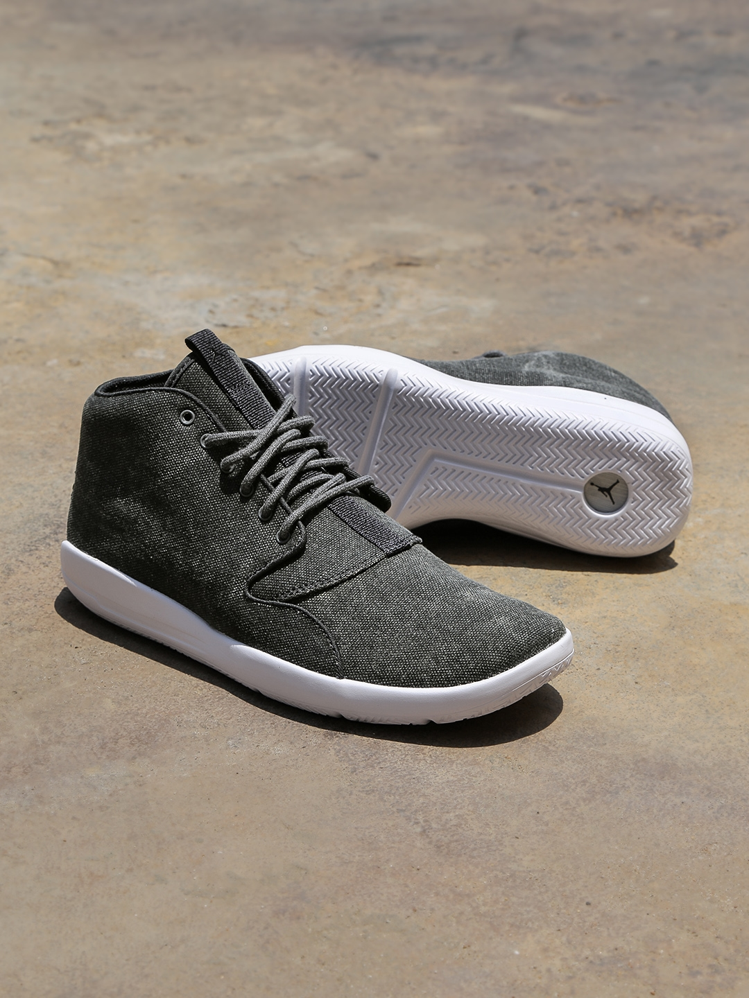 a98e6bd630e9 Buy Nike Men Charcoal Grey Jordan Eclipse Chukka Mid Top Sneakers ...
