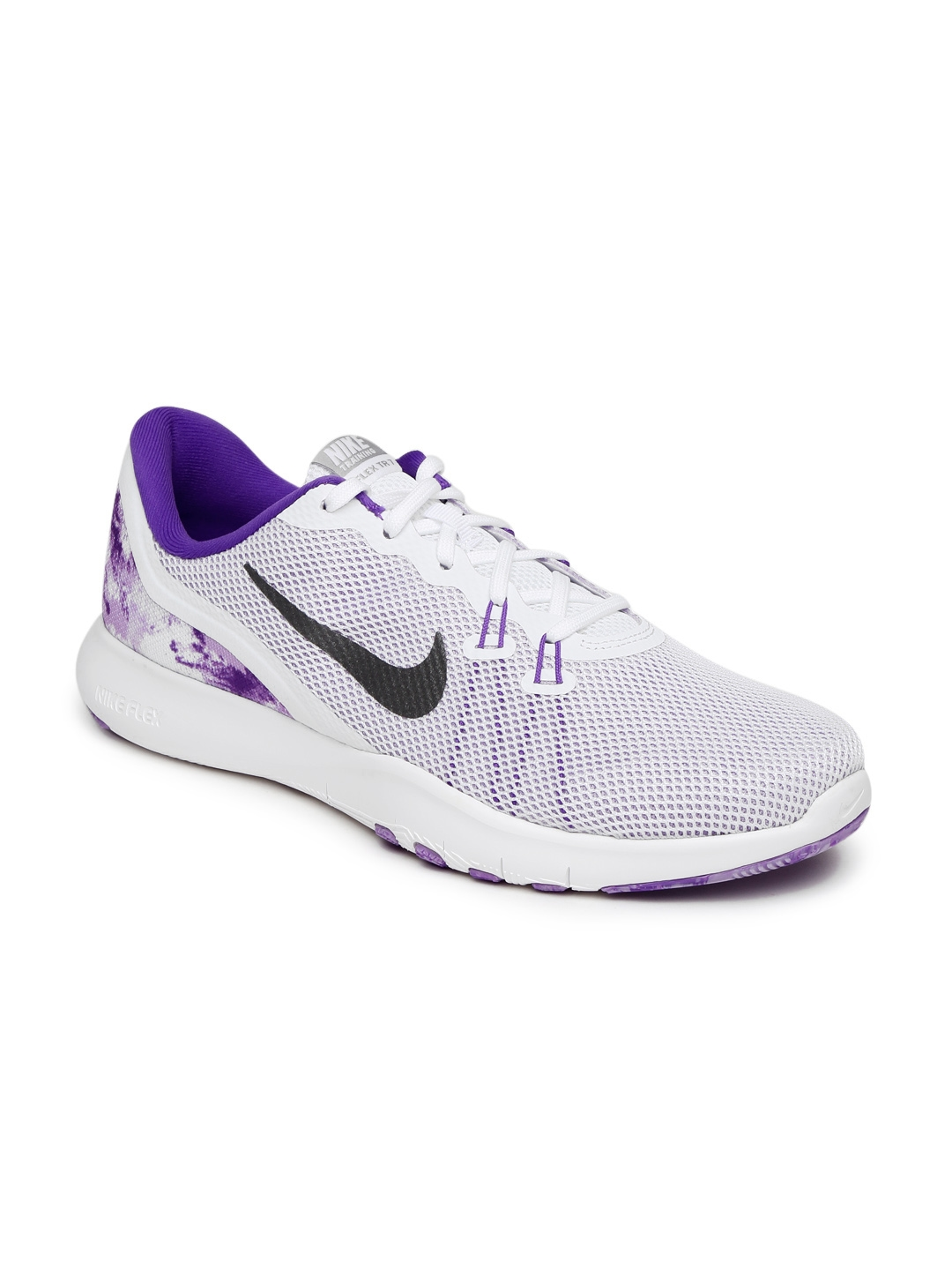 c34faac6b450 Buy Nike Women Purple   White FLEX TRAINER 7 Sports Shoes - Sports ...