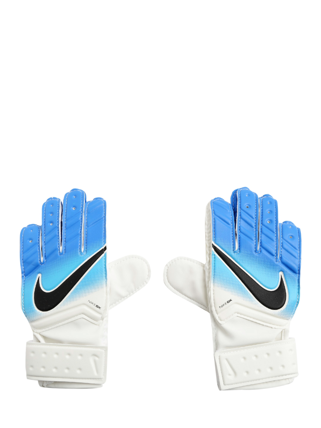Nike Kids Unisex White   Blue GK JR Match FA16 Football Gloves
