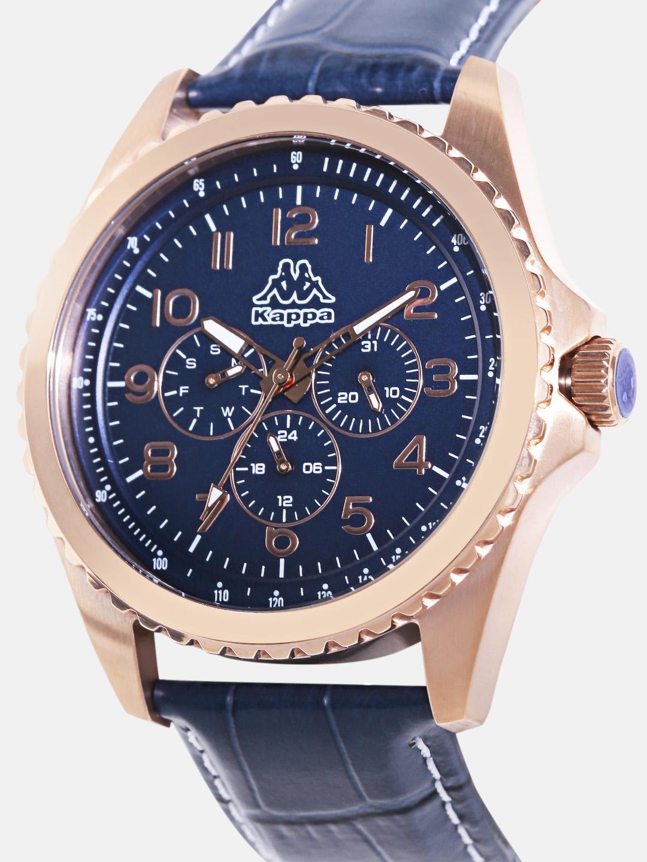 485b480725 Buy Kappa Men Navy Multifunction Dial Watch KP 1431M D - Watches for ...