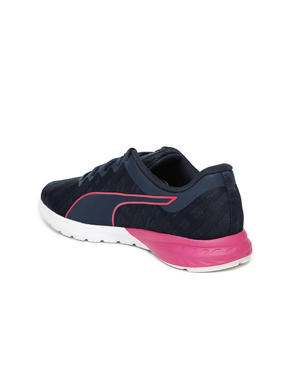 Buy Puma Women Navy Vigor Cross Hatch Running Shoes - Sports Shoes ... c3607fe51
