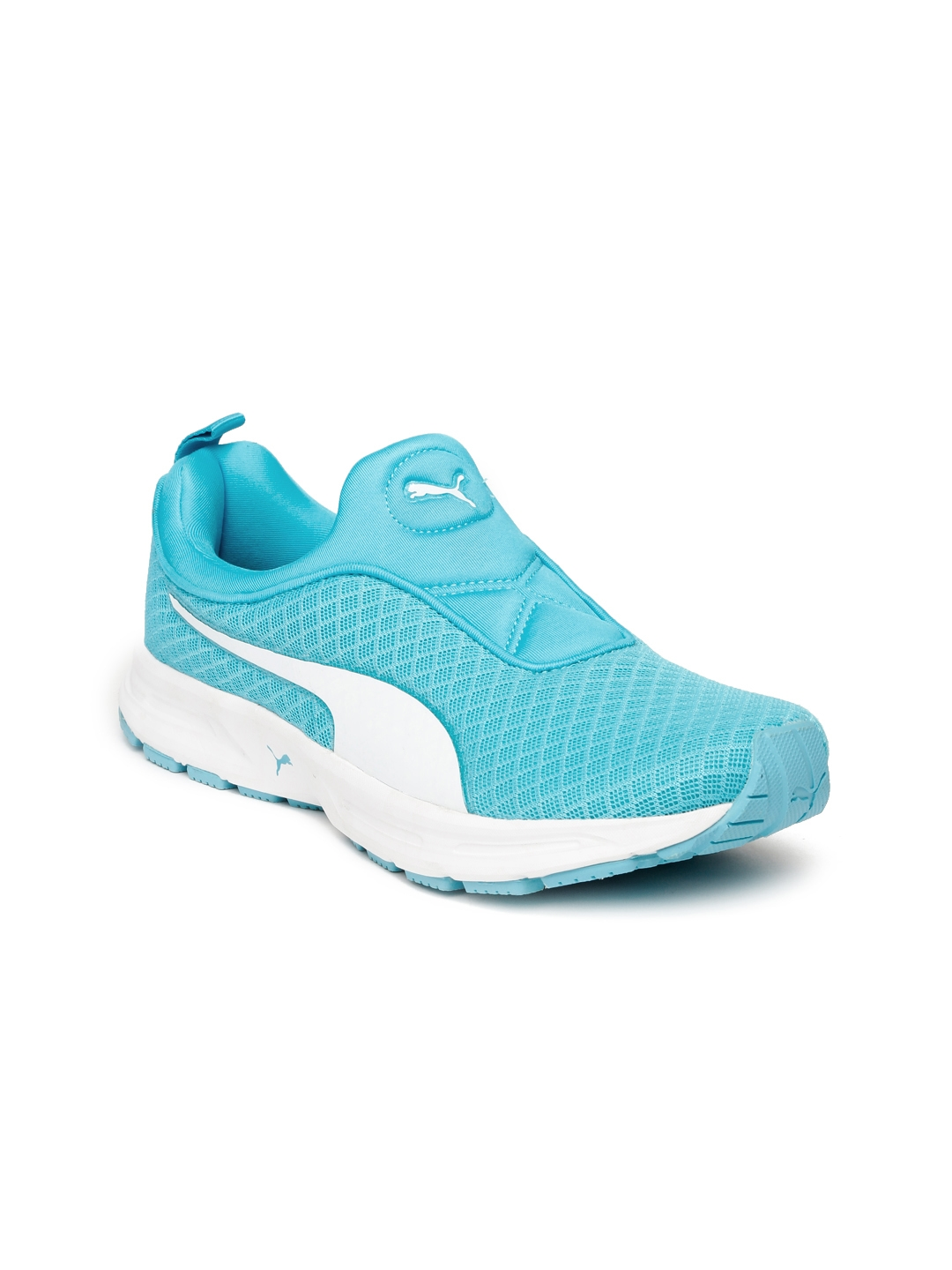 Buy Puma Women Turquoise Blue Burst Slip On IDP Running Shoes ... b6bc25f695b1