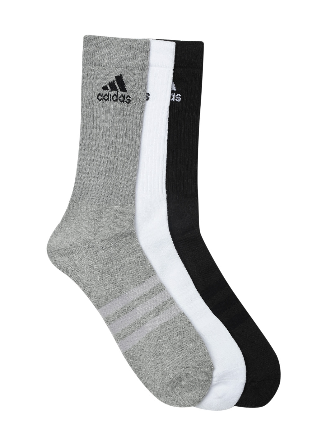 on sale 5e249 ffaa4 ADIDAS Unisex Pack of 3 3S PER CR HC 3P Above Ankle-Length Socks