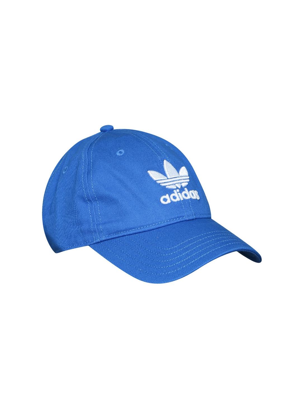 79a4d64c2668e Buy ADIDAS Originals Unisex Blue TREFOIL Cap - Caps for Unisex ...