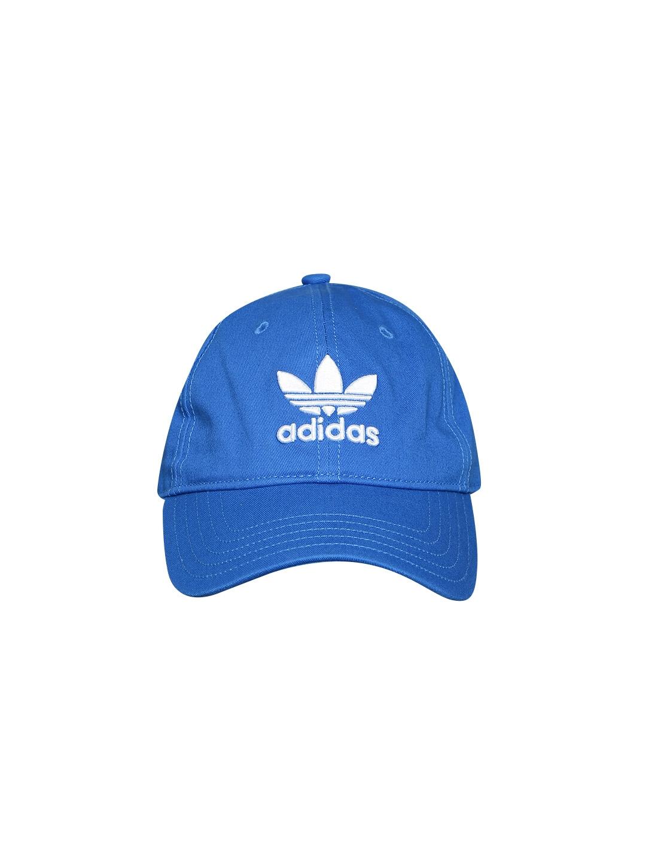 427ab1e4 Buy ADIDAS Originals Unisex Blue TREFOIL Cap - Caps for Unisex ...
