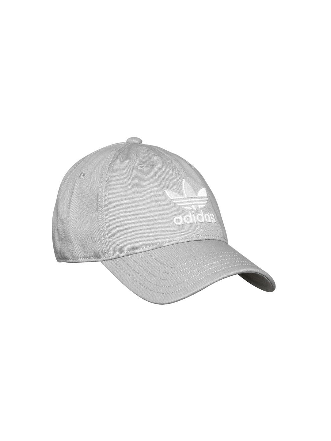 Buy Adidas Originals Unisex Grey TREFOIL Cap - Caps for Unisex ... 73abb96baf32