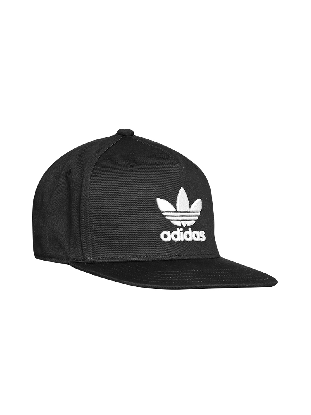 dbd29ae7d33e8d Buy ADIDAS Originals Unisex Black AC TRE Flat Cap - Caps for Unisex ...