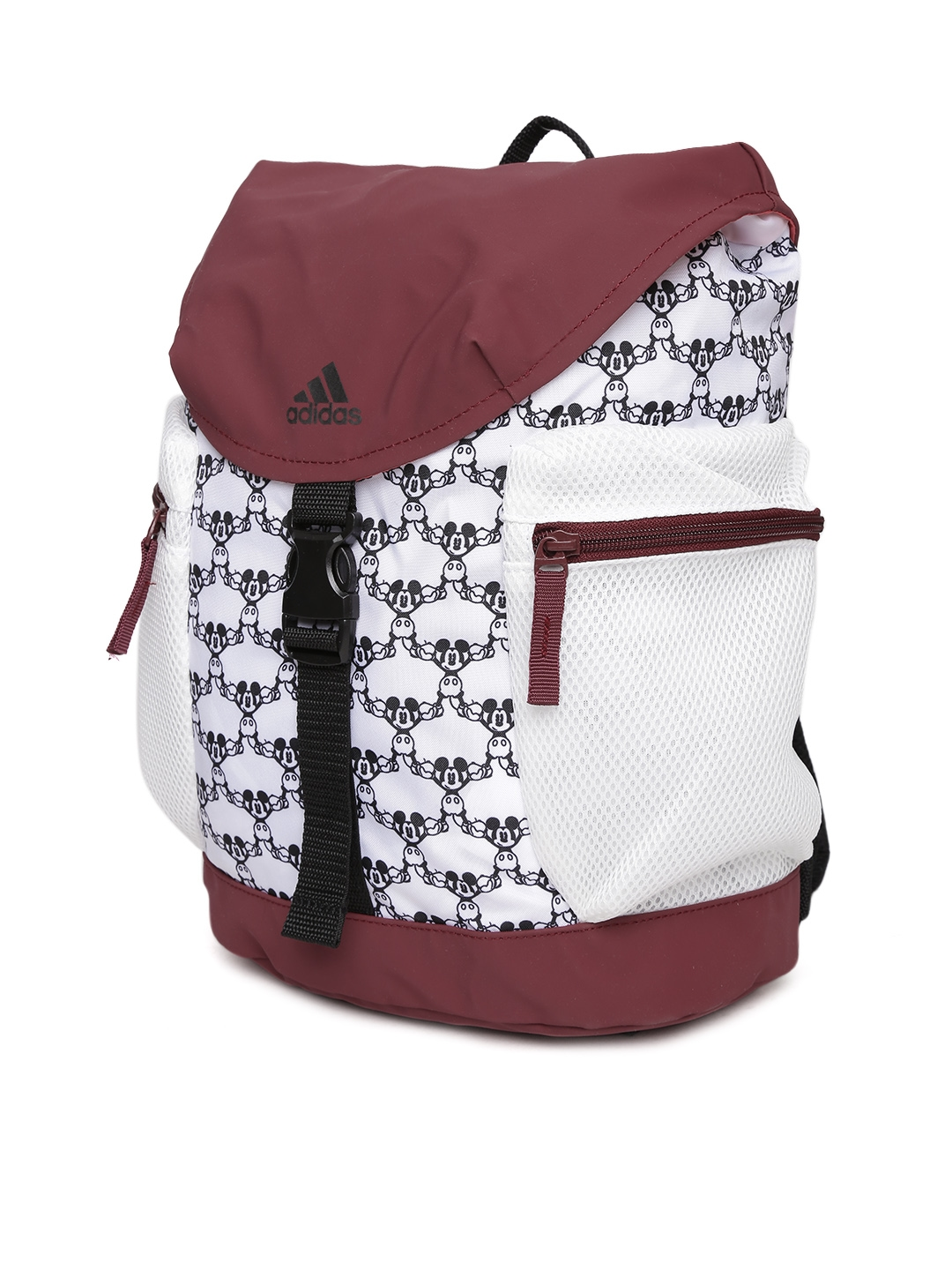 e33d4a3305bc Buy ADIDAS Kids White Disney Mouse Printed Backpack - Backpacks for ...