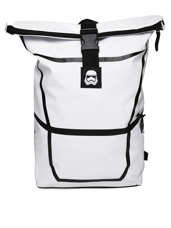 55cf72a753 Buy ADIDAS Star Wars Kids White Lucas B Printed Backpack - Backpacks ...