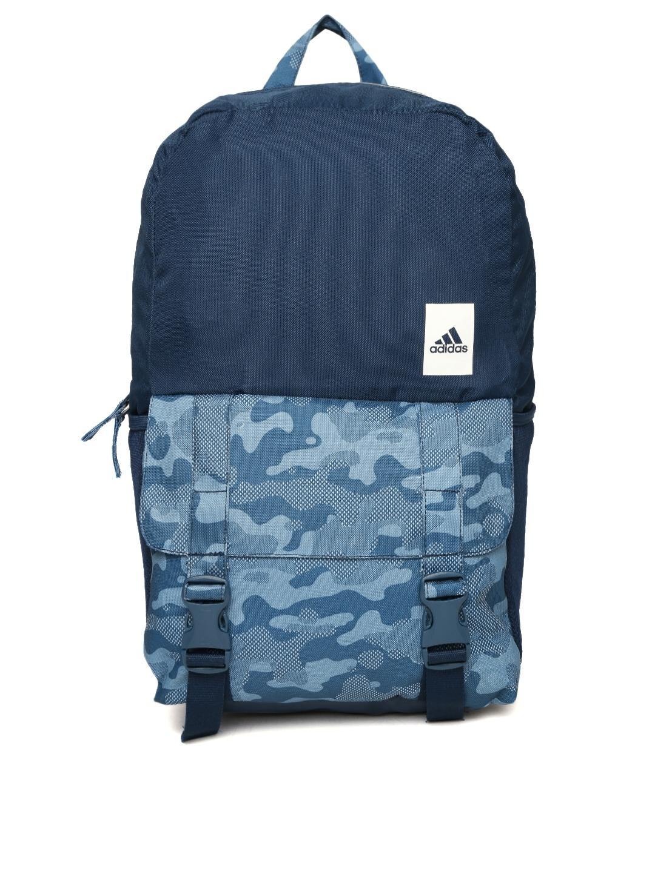 Adidas Originals Blue Backpack Camo  73a2269a86397