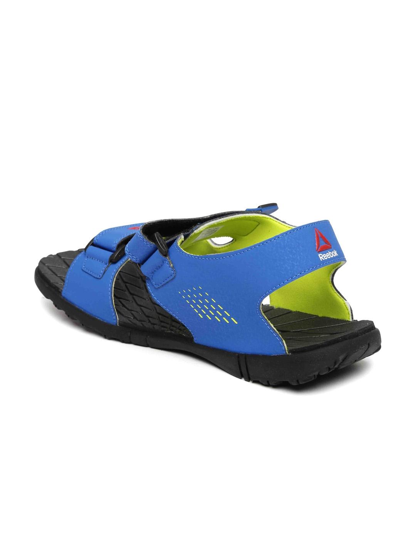 98b32b37a6341a Buy Reebok Men Blue Chrome Rider Sports Sandals - Sports Sandals for ...