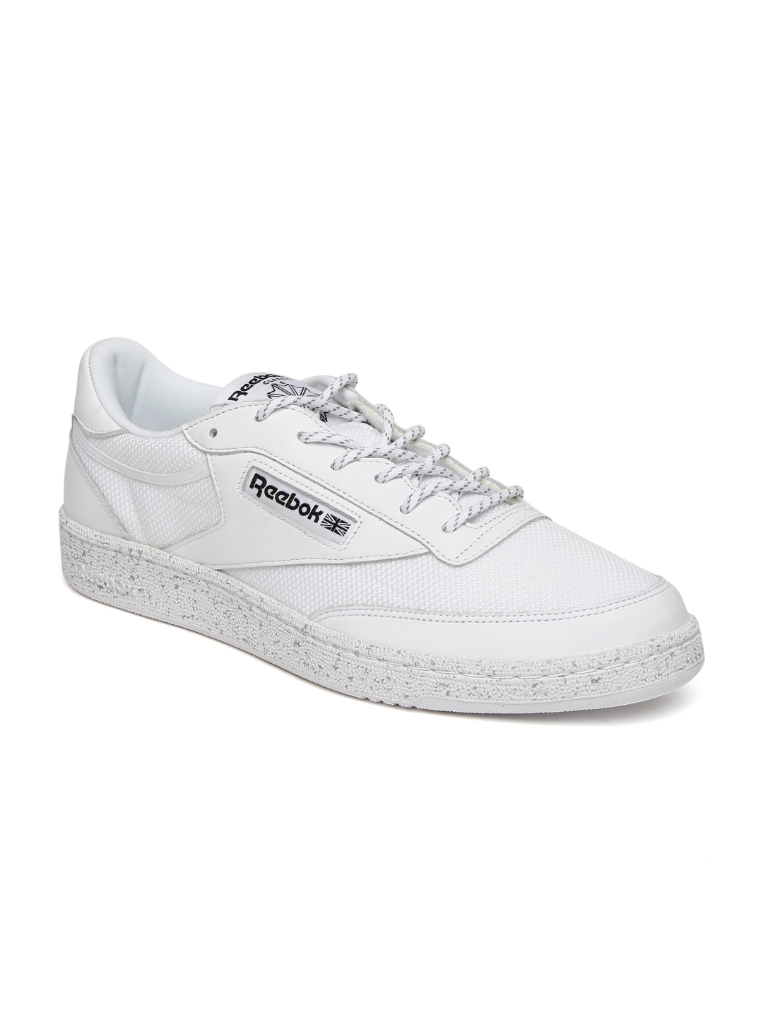 73c7c4b2 Buy Reebok Men White Club C 85 ST Leather Sneakers - Casual Shoes ...