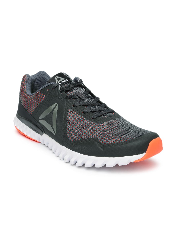abfd6481f9a2 Buy Reebok Men Grey   Orange Twistform Blaze 3.0 Running Shoes ...