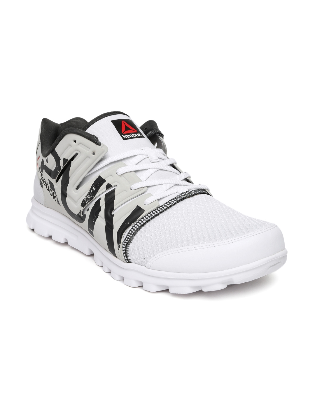 Buy Reebok Men White   Grey Ultra Speed Running Shoes - Sports Shoes ... b569fe44e