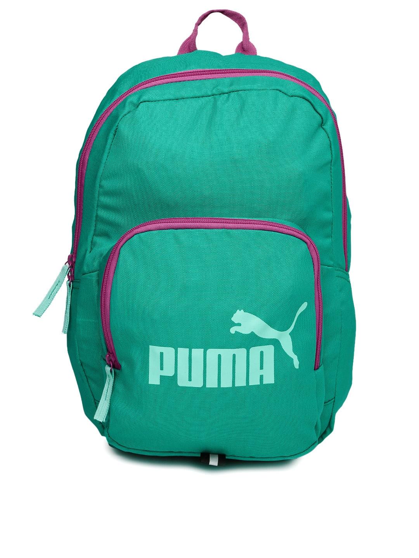 Buy Puma Unisex Green Phase Backpack - Backpacks for Unisex 1811042 ... bfb1f157848de