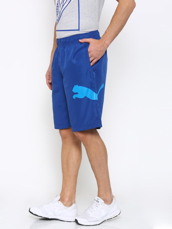 36cbce88f61b Buy Puma Men Blue ESS Big Cat Woven 10