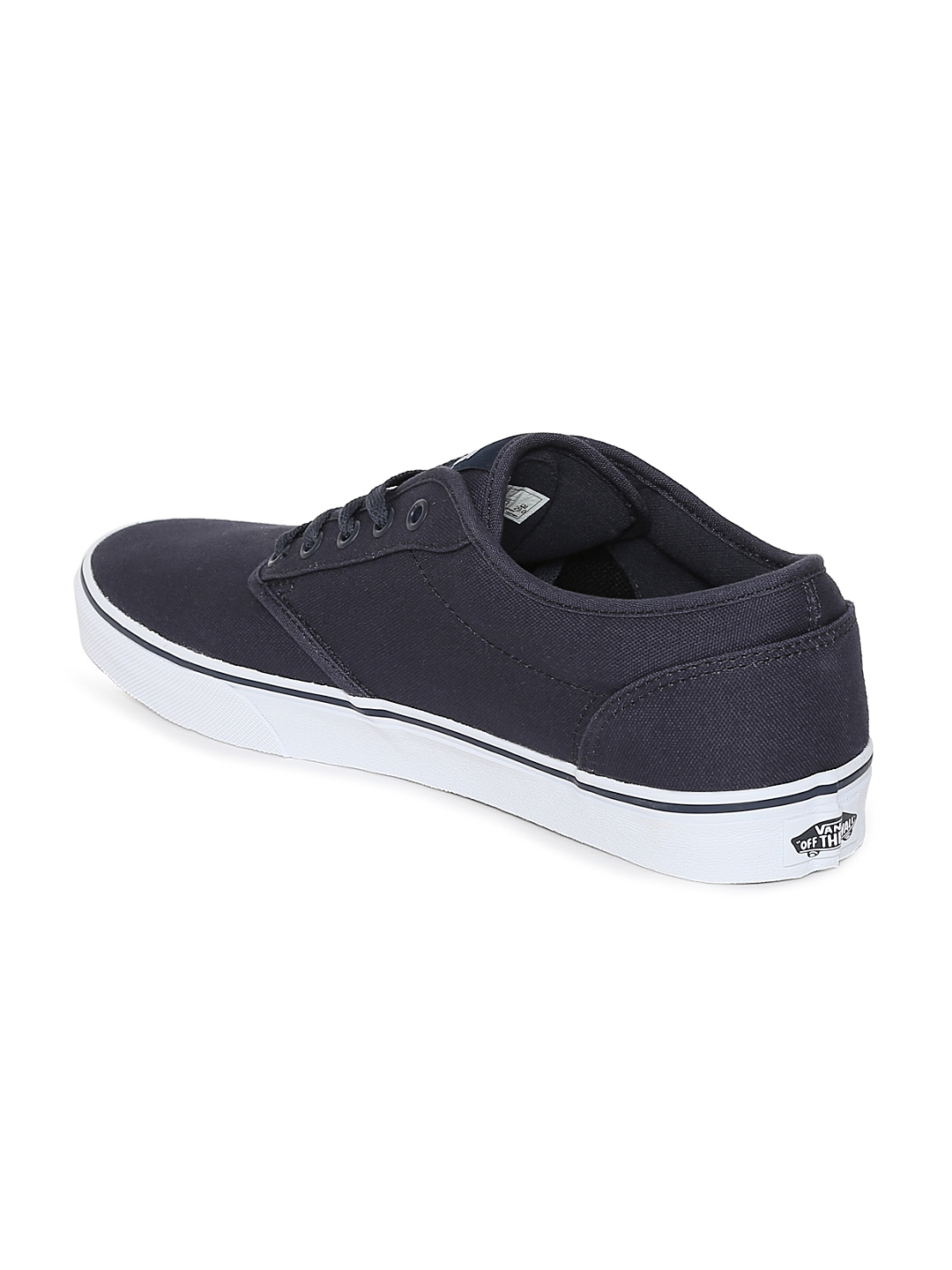 Buy Vans Men Navy Blue Atwood Sneakers - Casual Shoes for Men ... a01a651709