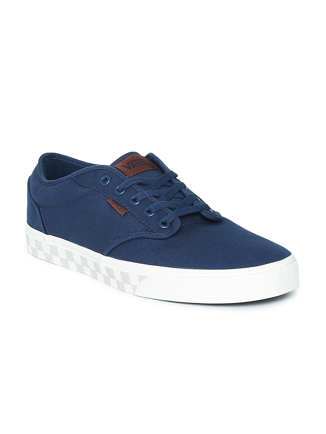 e6cc0d53e3e3fb Buy Vans Men Navy Blue Atwood Sneakers - Casual Shoes for Men ...