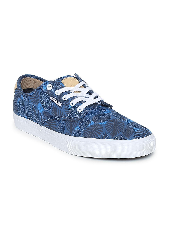Buy Vans Men Blue Printed CHIMA FERGUSON PRO Skate Shoes - Casual ... 18e8901fe5