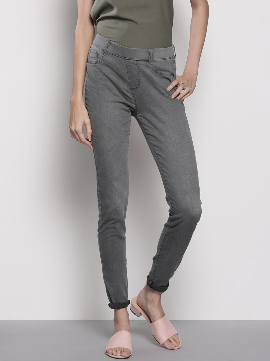 search for original 2019 best sell search for newest DOROTHY PERKINS Charcoal Grey Jeggings