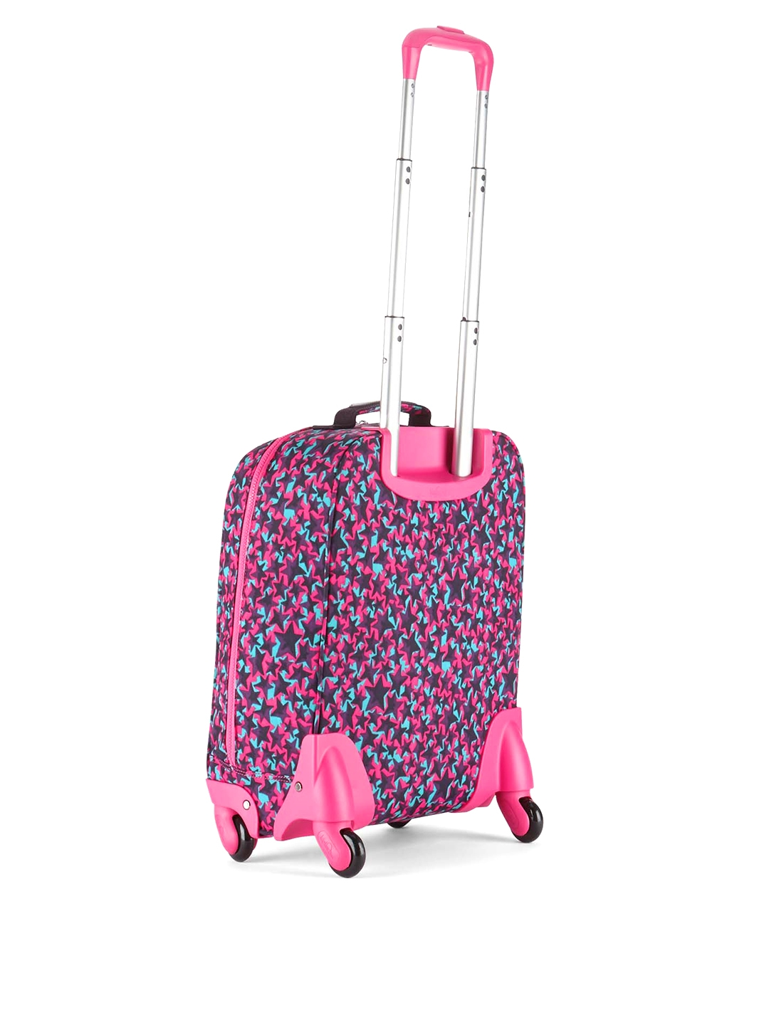 6e4b46b376 Buy Kipling Girls Purple   Pink Printed Cabin Trolley Bag - Trolley ...