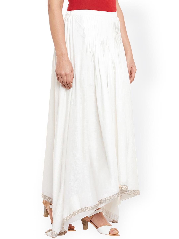 18dc714a7b High Waisted Flared Maxi Skirt