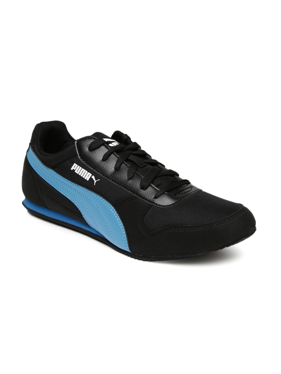 967acf21a33 Buy Puma Men Black   Blue Superior DP Sneakers - Casual Shoes for ...