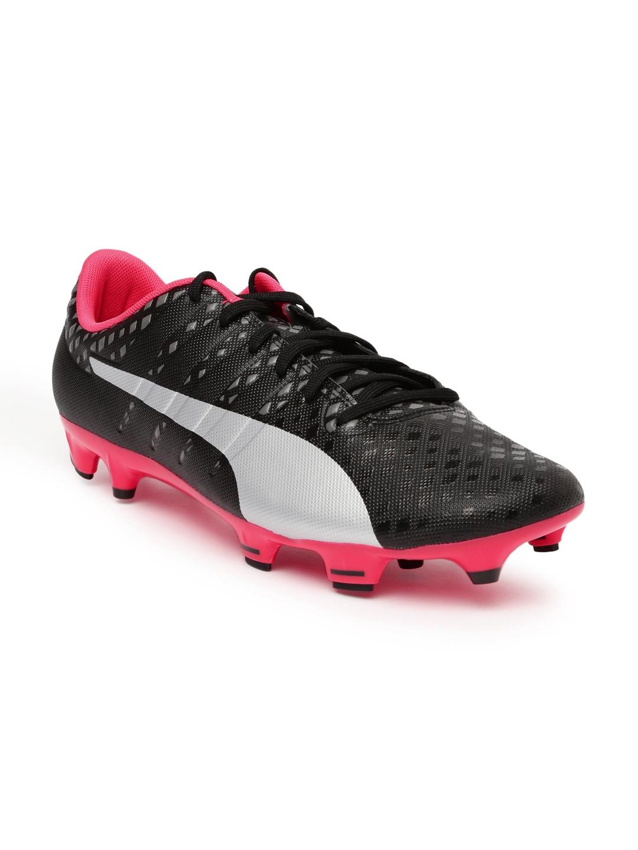 f5a58e50f272 Buy Puma Men Black EvoPOWER Vigor 3 Football Shoes - Sports Shoes ...