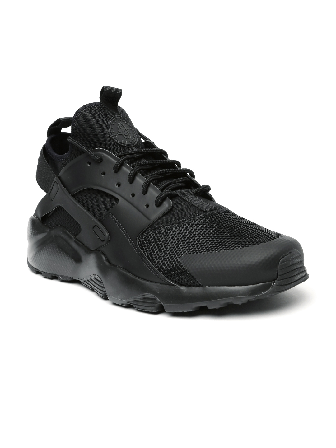 24c0f1906d4 Buy Nike Men Black Air Huarache Run Ultra Mid Top Sneakers - Casual ...
